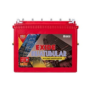 Exide Inva Tubular IT400-115AH