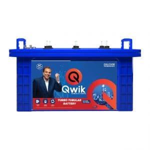 Qwik Short Tubular Battery QT1300-120AH - online battery store in hyderabad