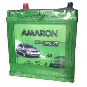 Amaron 45 Ah car Battery | AAM-FL-0BH45D20L