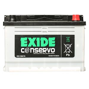 EXIDE CONSERVO (DIN70(ISS))