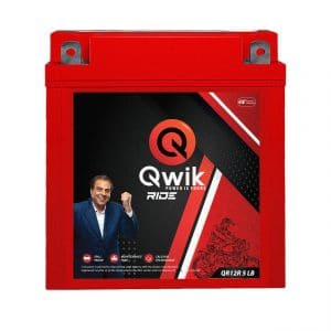 qwik motorcycle batteries | Qwik Ride QR12R 5 LB