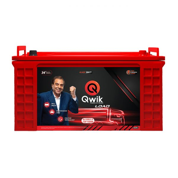 Qwik Load QL150G51 R - online battery store in hyderabad