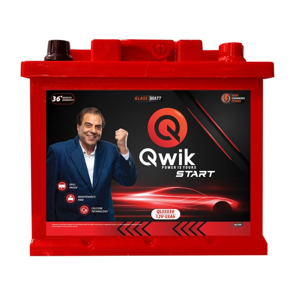 Qwik Din QL55530 - online battery store in india